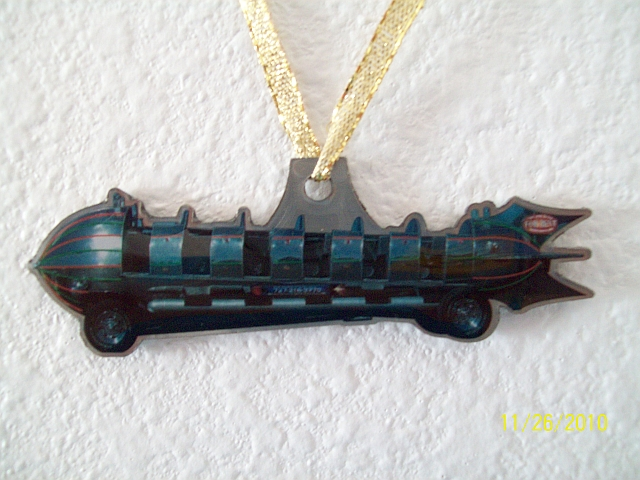 This highly detailed metal Rocket Ship Car makes a great key fob, or Christmas tree ornament.  Great stocking stuffer! $9.95 + tax (Ohio) & shipping