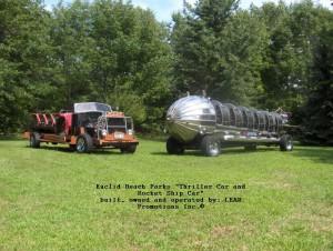Thriller Car & Rocket Ship Car 06